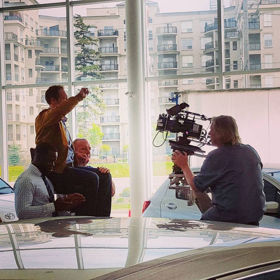 Toyota Commercial Shoot