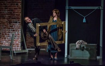 Perry & Erin Mackinnon in THE 39 STEPS at Port Hope Capitol Theatre